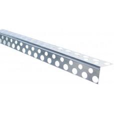 Уголок перфорированный алюминиевый (3,0 м)/шт
