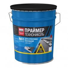 Праймер битумный 01 ТЕХНОНИКОЛЬ/ расход 0,25-0,35 л/1м2/ (20л)