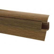 Плинтус COMFORT 54 мм дуб натуральный 2,5м