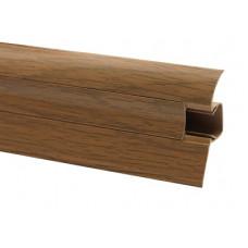 Плинтус COMFORT 54 мм дуб янтарный 2,5м