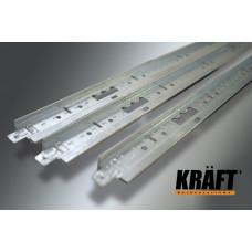 Профиль KRAFT Fortis Т-24 600*25*24 мм белый