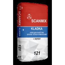 Клей для ячеистых блоков Scanmix KLADKA 121