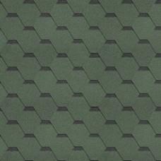 черепица SHINGLAS УЛЬТРА САМБА Зелёный