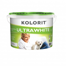 КРАСКА KOLORIT ULTRAWHITE EKO 10л/14кг