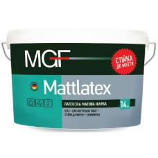 Латексная матовая краска MGF MATTLATEX 14 кг (10л)