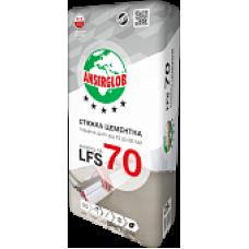 Цементная стяжка 10-60 мм армированная ANSERGLOB LFS 70 (25кг)