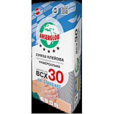 Клей для плитки ANSERGLOB BCХ 30 (25кг)