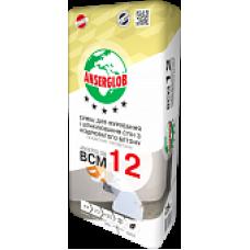 Клей для кладки и шпаклевания стен из газобетона, термоблоков BCM 12 (25кг)