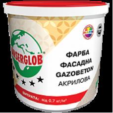 КРАСКА ФАСАДНАЯ ANSERGLOB GAZOBETON АКРИЛОВАЯ (14кг)