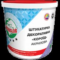 ШТУКАТУРКА ANSERGLOB АКРИЛОВАЯ «КОРОЕД» (25кг)