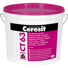 Штукатурка короед Ceresit CT 63/25 база 3.0 мм