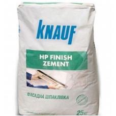 Шпаклевка цементная (фасадная) HP Финиш Цемент (25кг) KNAUF