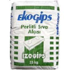 IZOGIPS Эко (30 кг) Штукатурка гипсовая Турция
