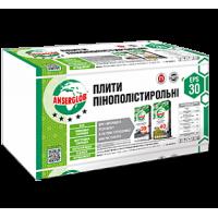 ПЕНОПЛАСТ ANSERGLOB EPS 30 (Плотность 9 кг/м3/Г1) 1000х500х50мм / цена за м2